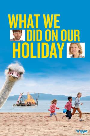 Watch What We Did on Our Holiday Online