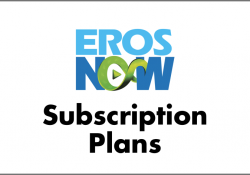 Eros Now Subscription Plans