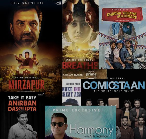Watch These Indian Original Content on Amazon Prime