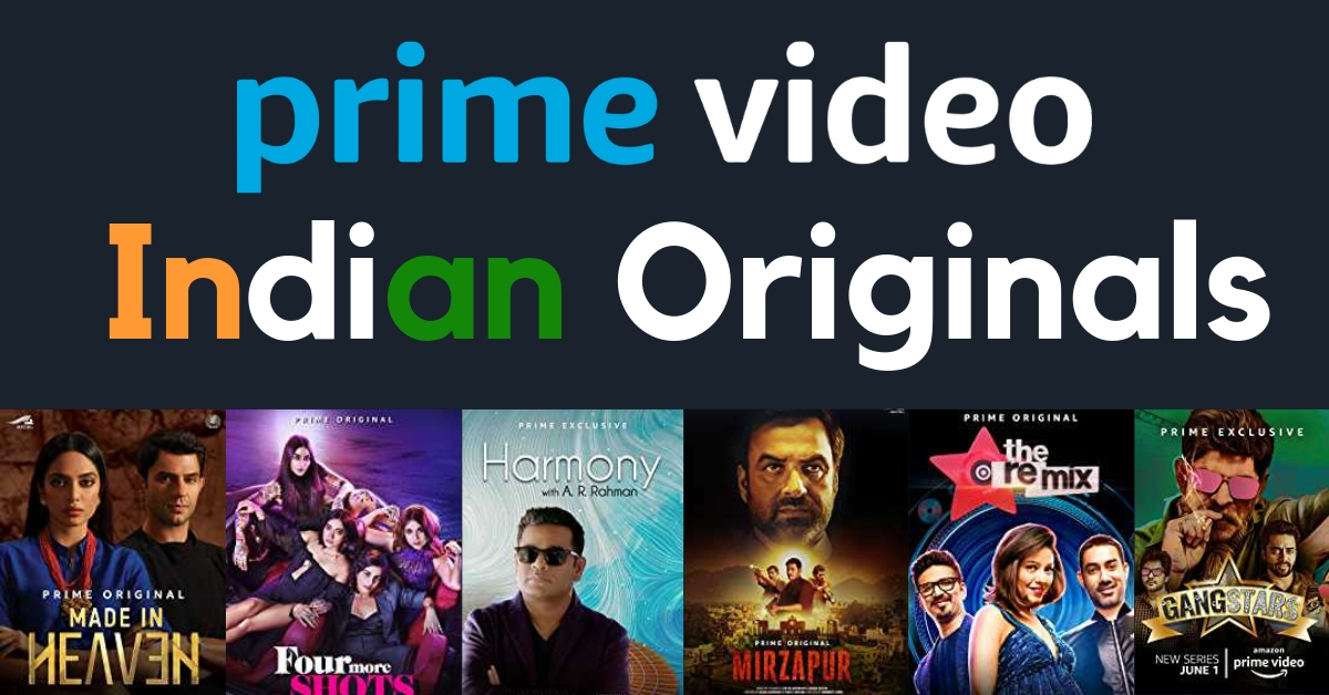 Prime Video India Originals