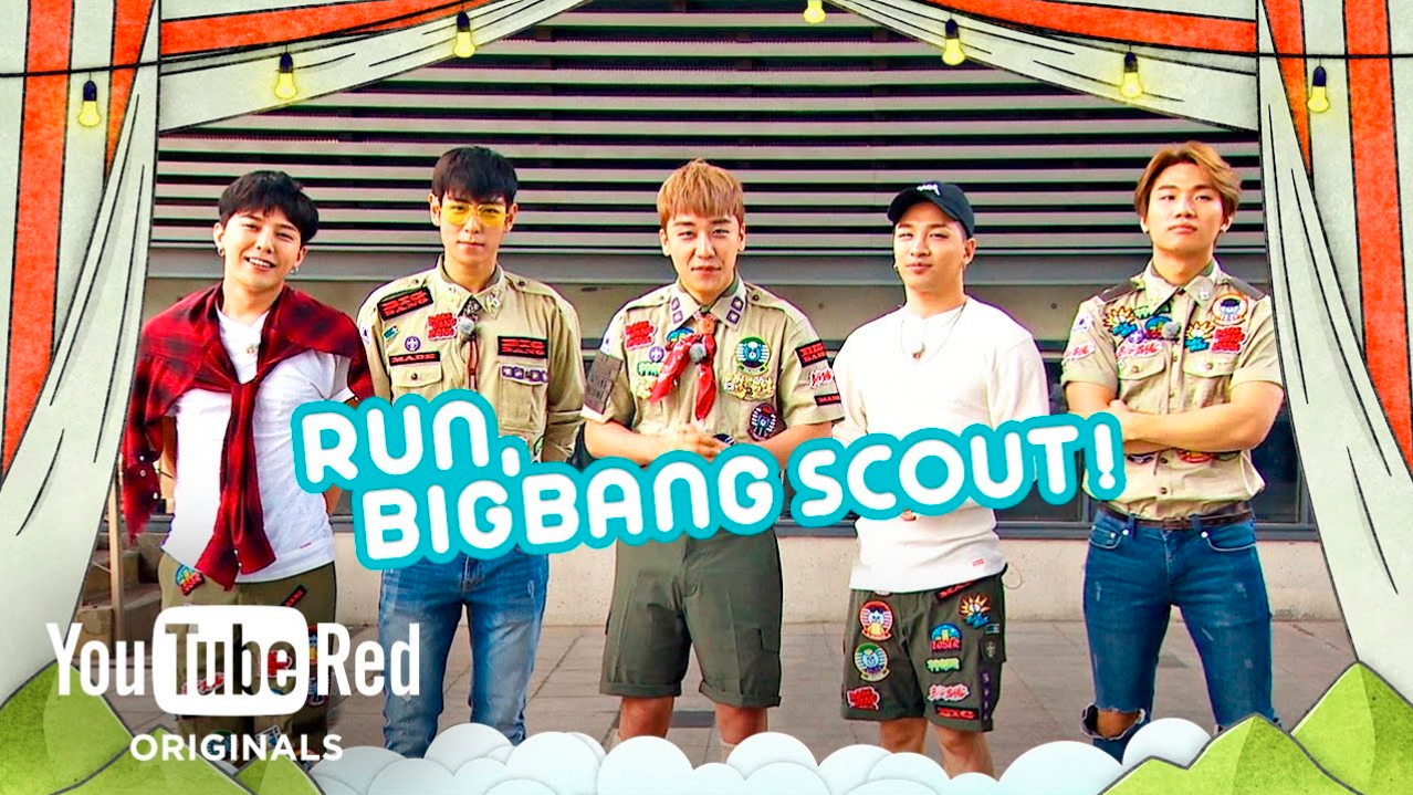 Run Big Bang Scout Reality Series YouTube Red