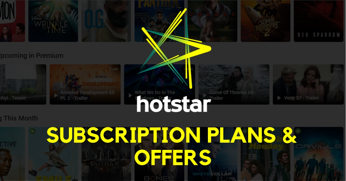 hotstar subscription cover