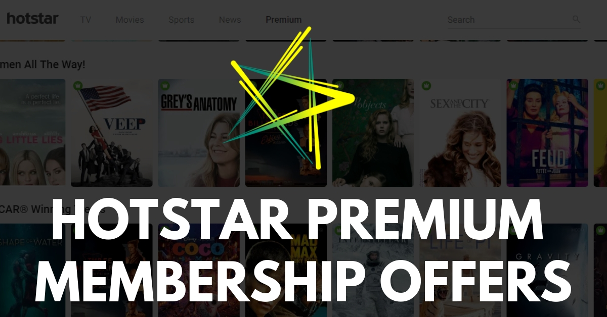 Hotstar Subscription Plans & Offers - Premium & All Sports Pack