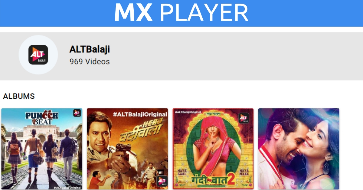 alt balaji on MX Player
