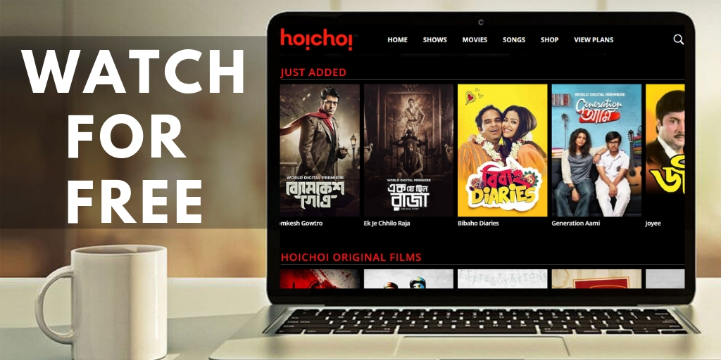 Hoichoi Free Subscription Account on TV & App, Offers