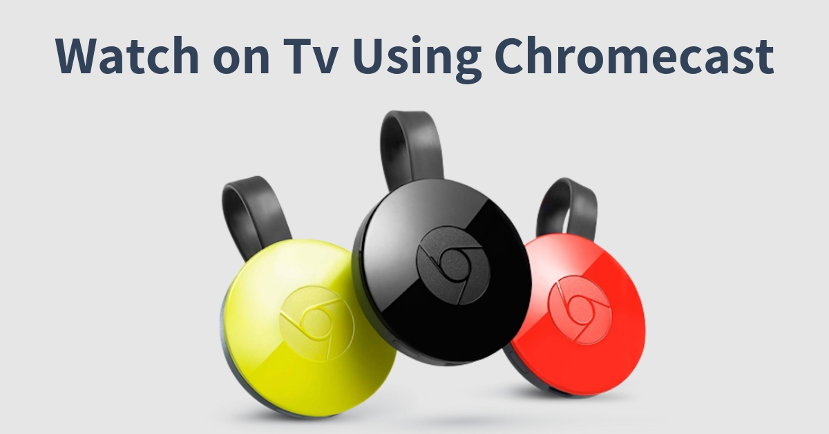 prime video via chromecast