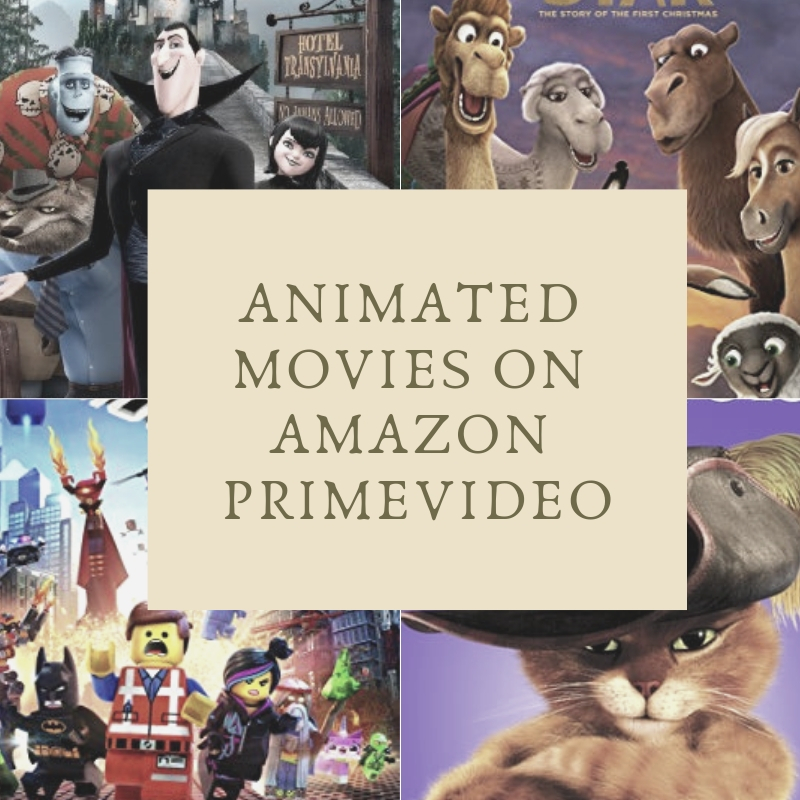All 15 Animated Movies on Amazon Prime watch online
