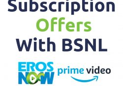 Watch Amazon Prime Video Free With BSNL | BSNL Offers | Eros Now Free