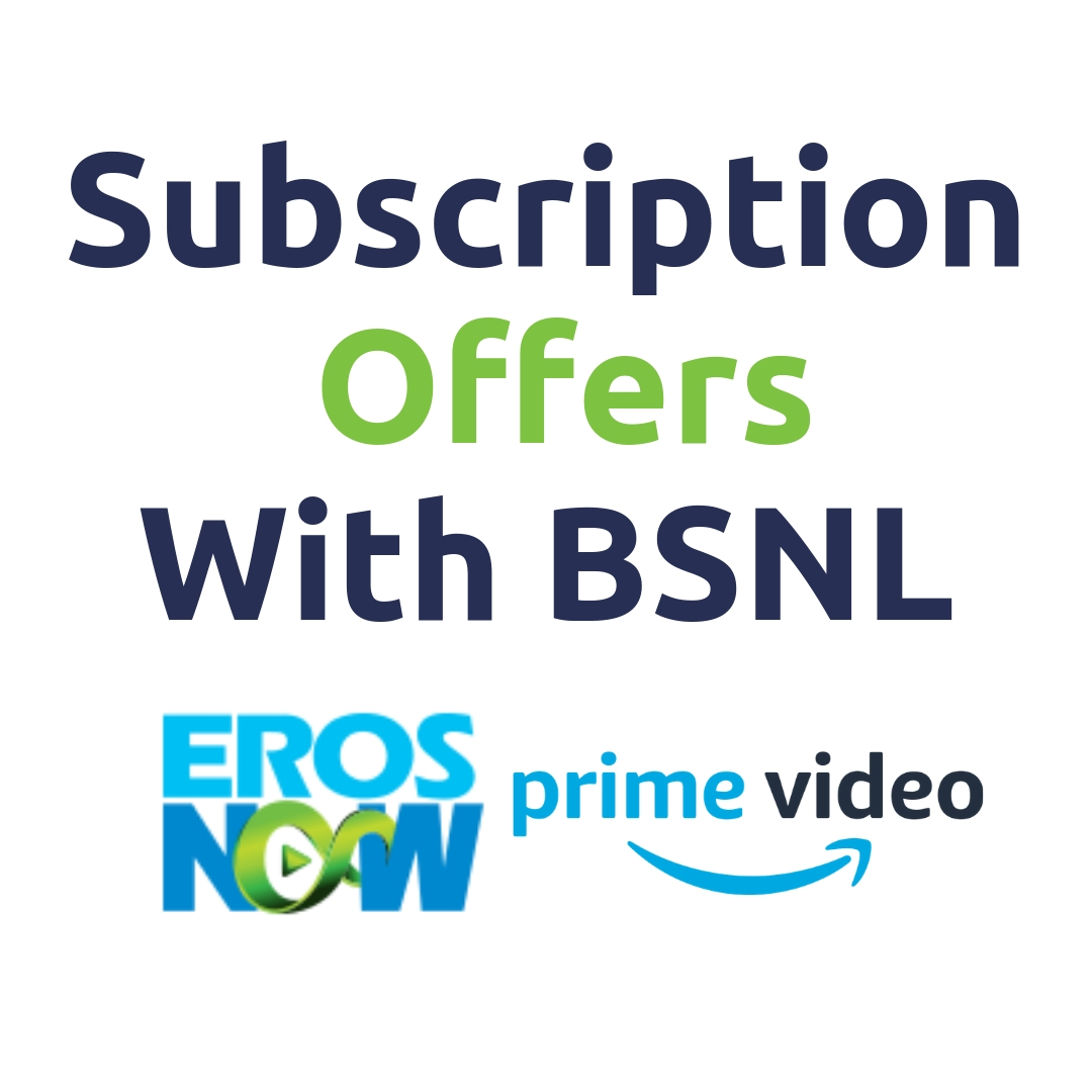 Watch Amazon Prime Video Free With BSNL | BSNL Offers | Eros Now Free watch online