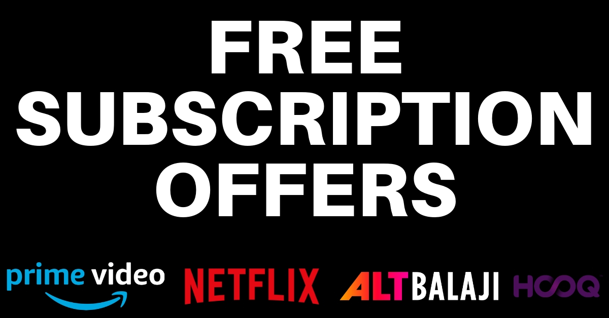 Watch Netflix, Hotstar & Others For Free | Free Subscription