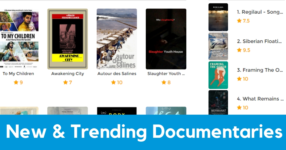 GuideDoc New & Trending Documentaries