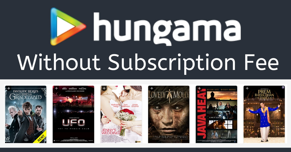 hungama play complementary