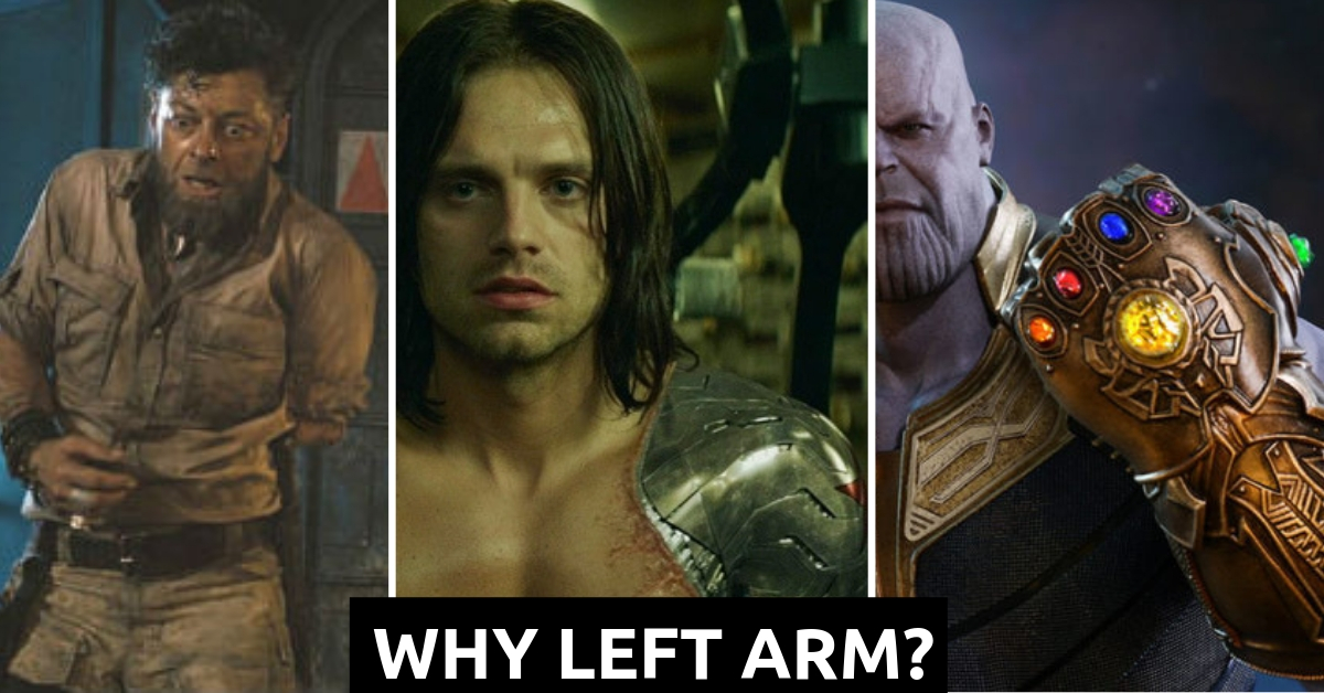 Left Arm In MCU