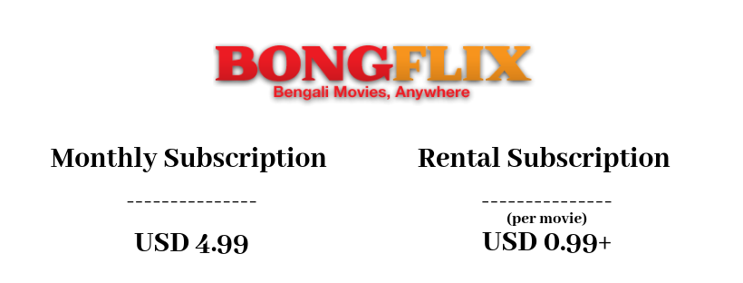 Bongflix Monthly Subscription Plans & Pricing