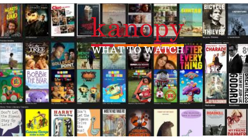 Content offered on Kanopy- what to watch