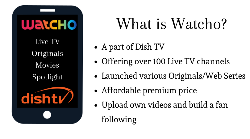 What is whatcho and what does it offer?