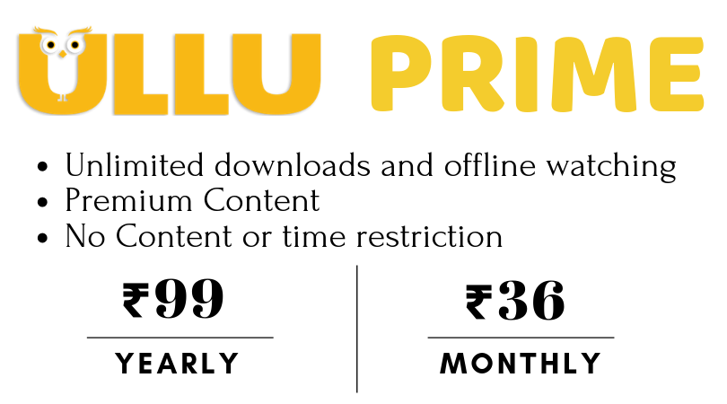 Ullu Subscription and Prime Cost