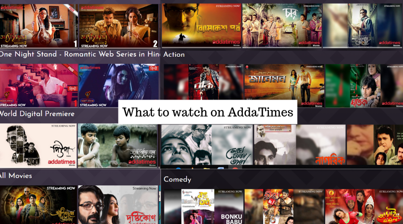 Addatimes Originals, Movies, Classics, Series, Music