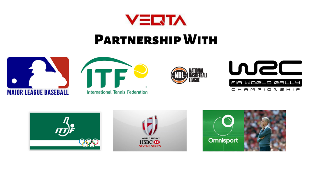 Veqta Partnerships with ITF, W2C, IITF, MLB, NBL, and more.