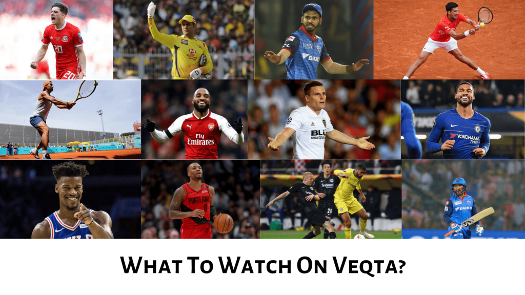 what to watch on veqta - all content