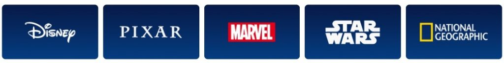 Disney Plus Content Available - Disney, Pixar, Marvel, Star Wars, National Geopgrahic