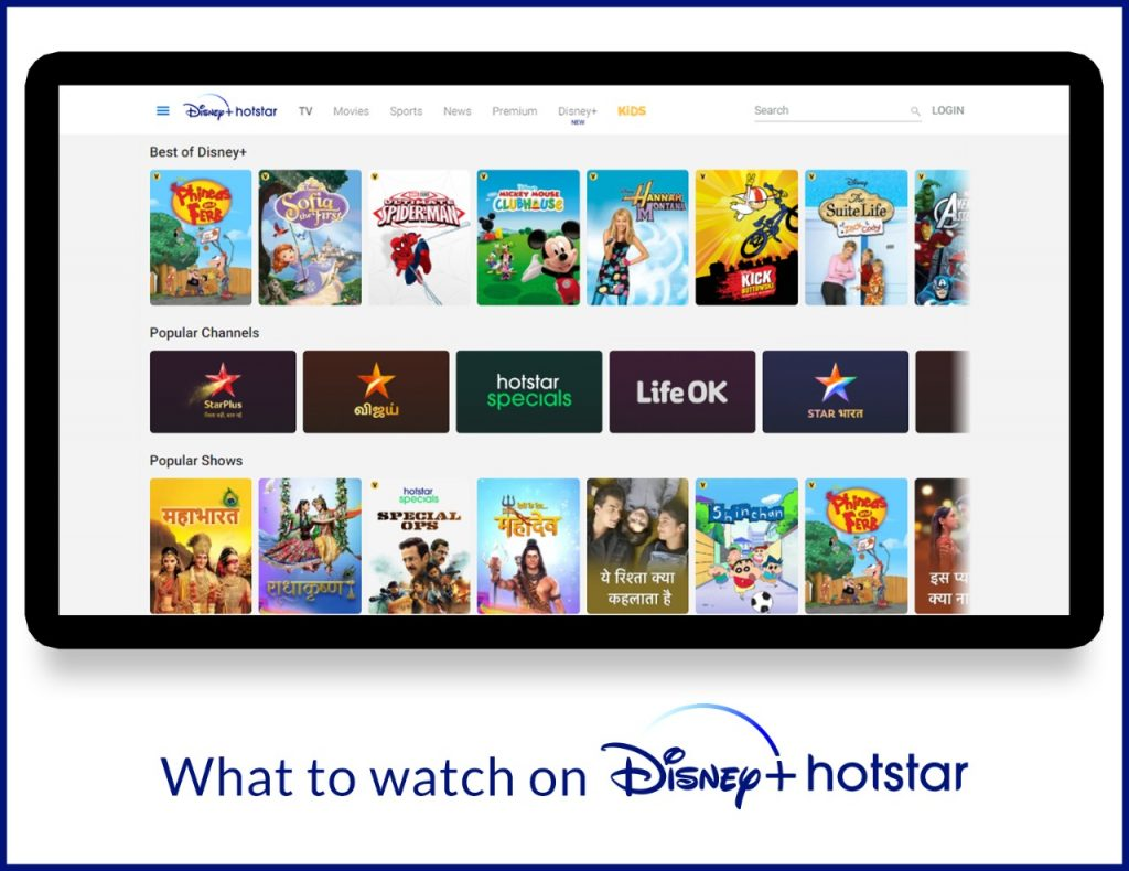 What to Watch on Disney+ Hotstar - All Content