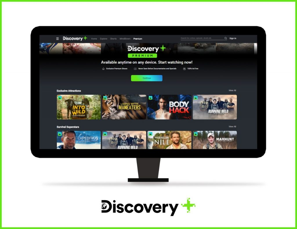 Watch Exclusive Shows on Discovery Plus Premium