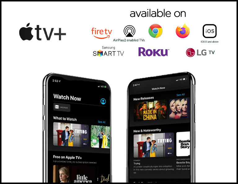 Apple TV+ supported devices