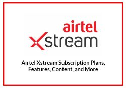 Airtel XStream Subscription