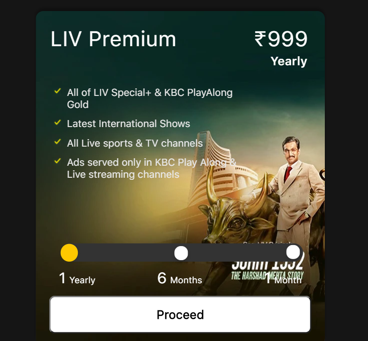 sonyliv subscription plans